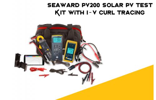 Seaward PV200 Solar PV Test KIT with I-V Curl Tracing