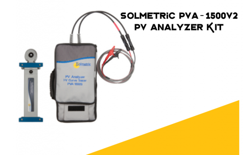 Solmetric PVA-1500V2 PV Analyzer KIT